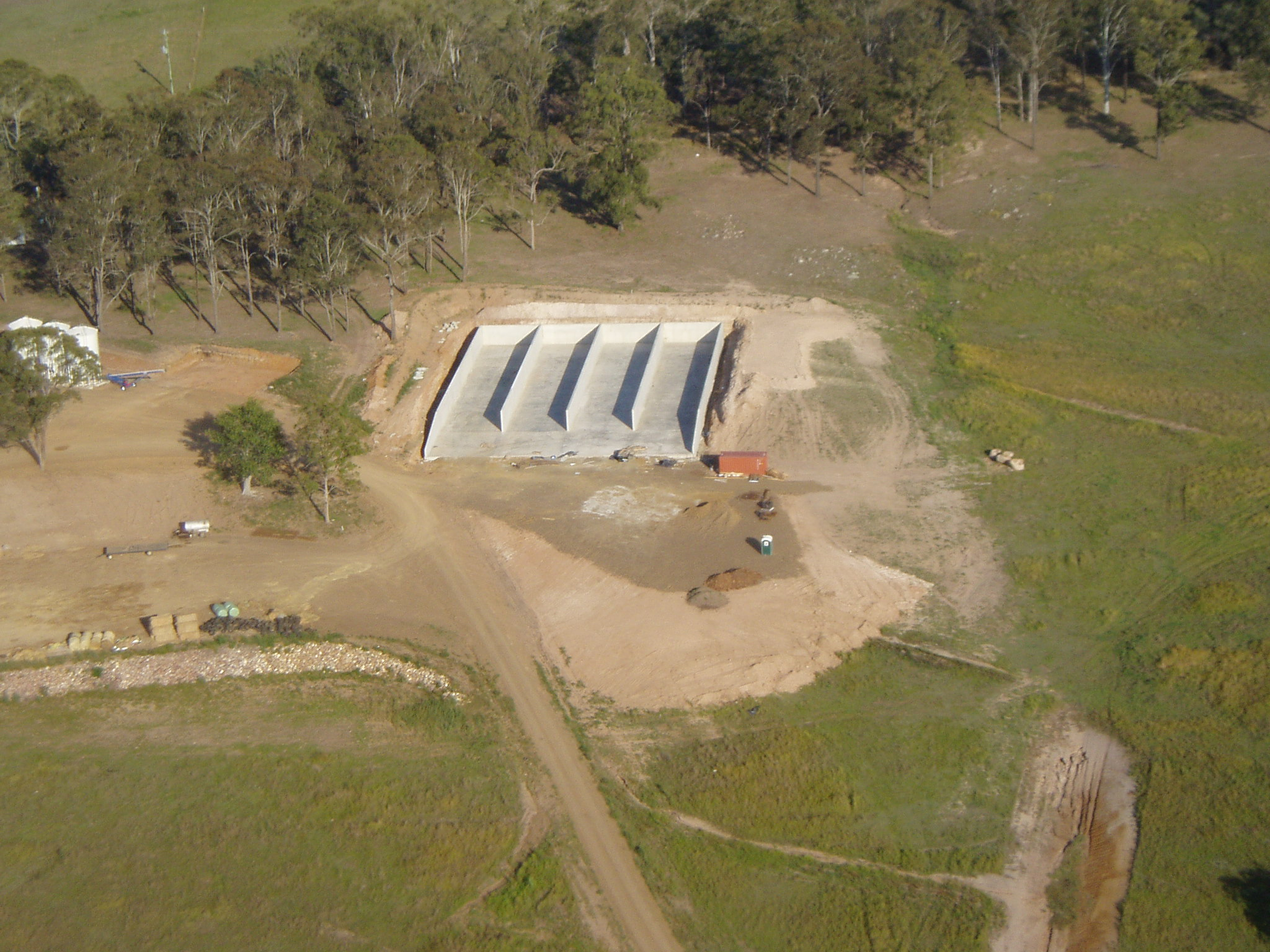 SILAGE PIT - 2012