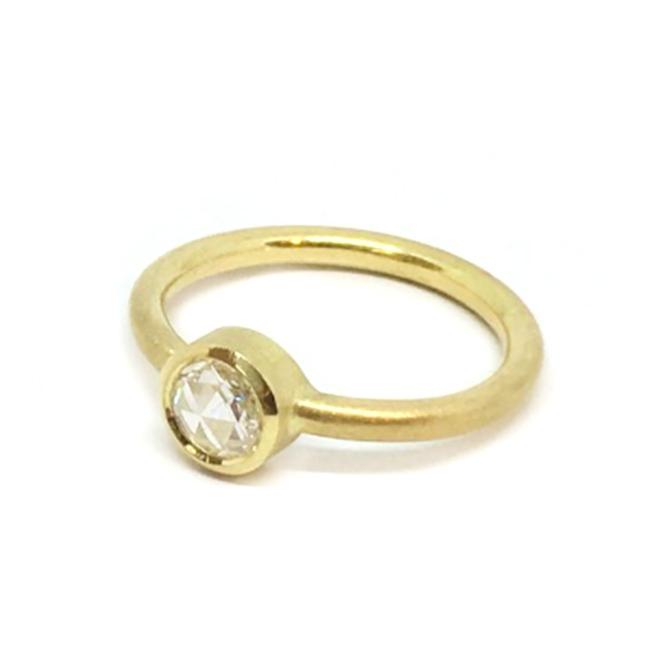 Atelier Range Rose Cut Diamond Ring Close up1.jpg
