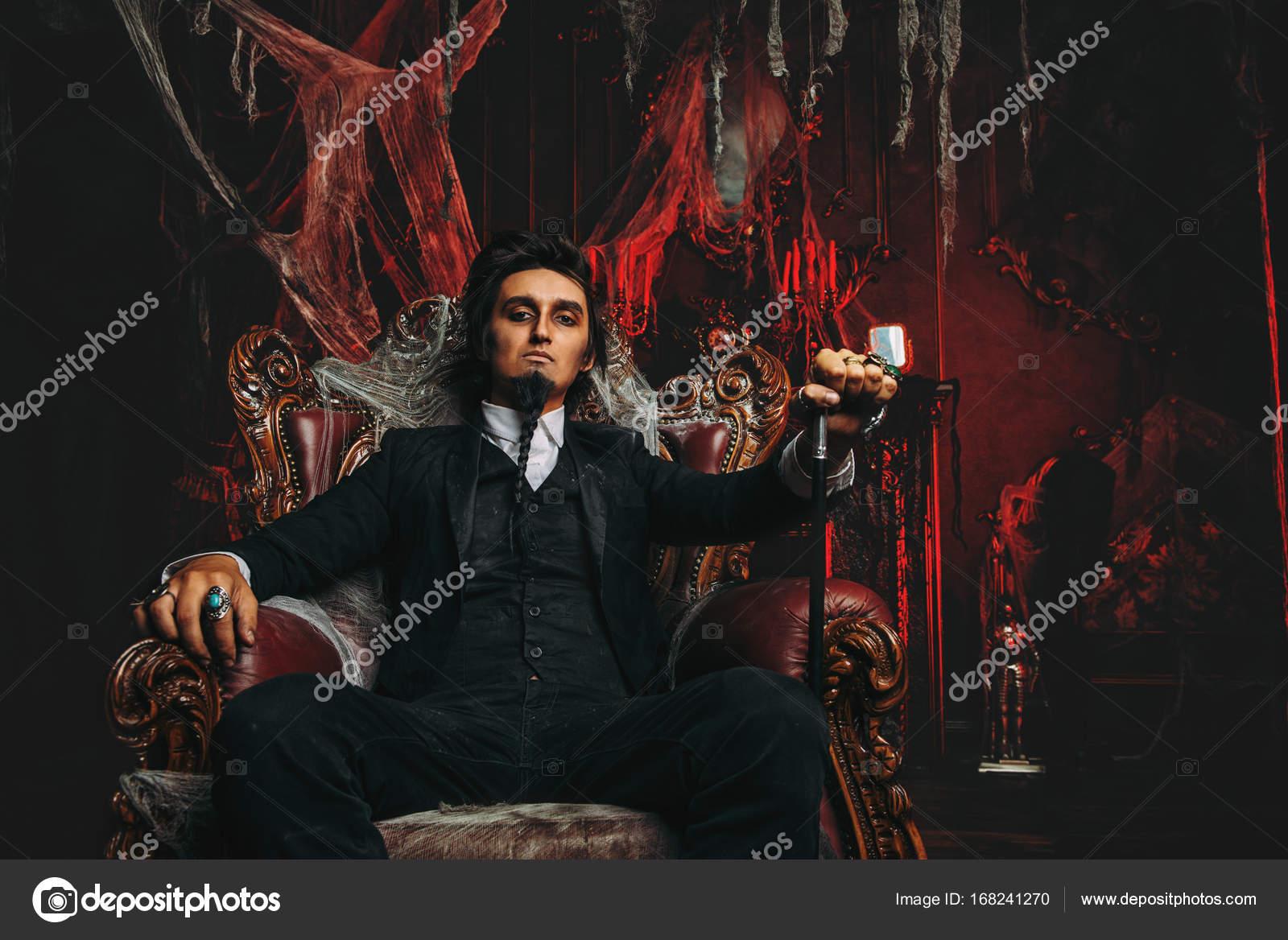 Dark Lord on Throne