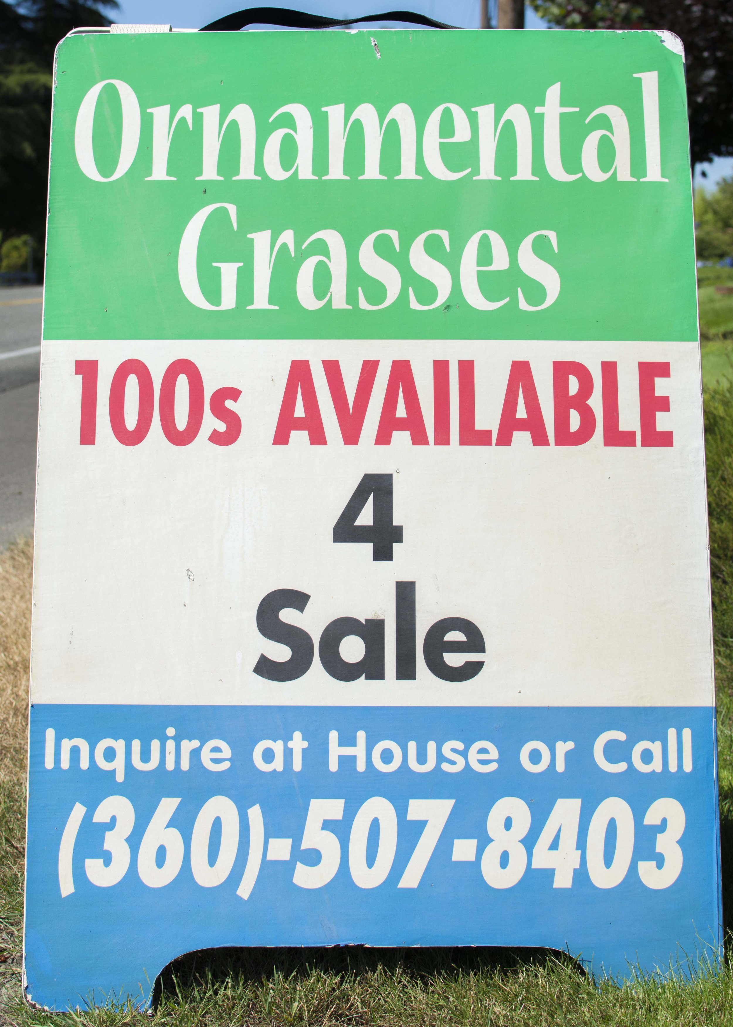 Look for our sign on South Bay Rd! -