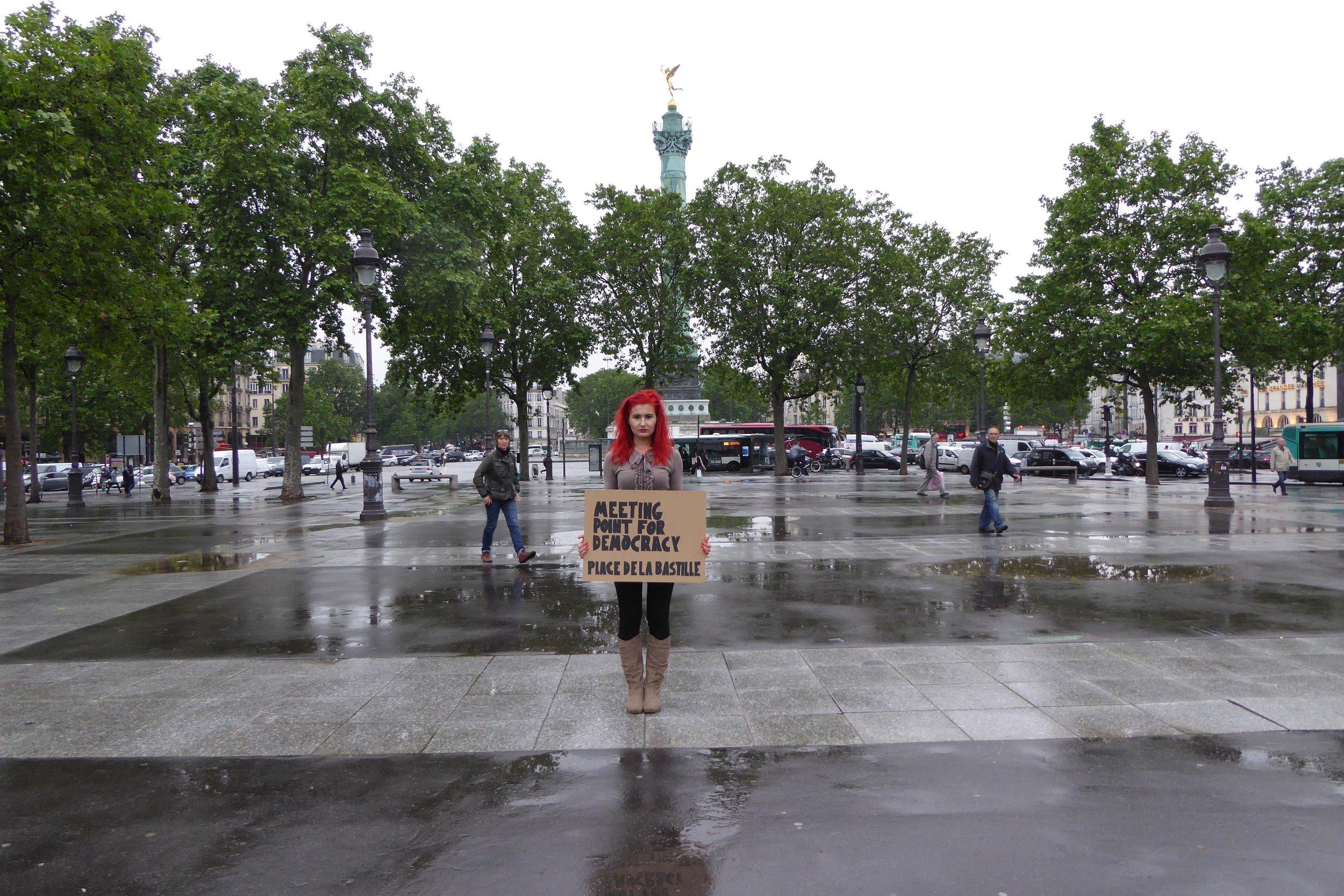 Meeting Point for Democracy / Place de la Bastille PARIS / 2016
