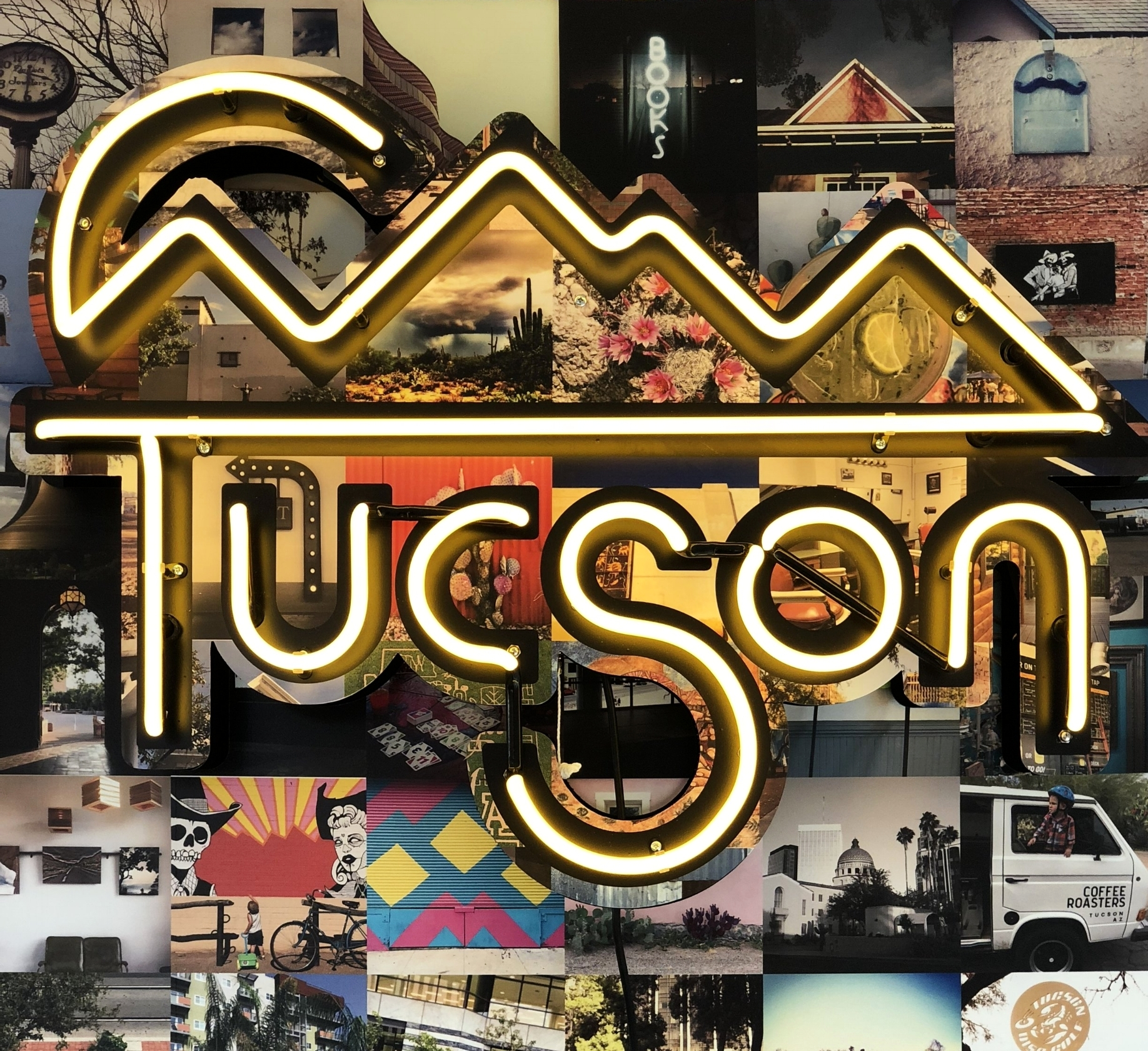 Neon sign designed b y Saywells Design Co ., installed and built by  Cook and Company Signmakers  for Why I Love Where I Live.