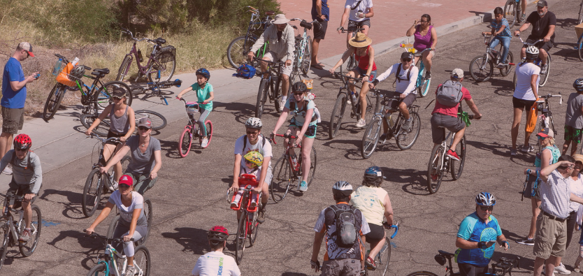 """Join us at Cyclovia for a special Why I Love Where I Live featured activity! We'll be at the """"starting line"""" at Corbett Porch - 6th St. & 7th Ave. More details at https://www.cycloviatucson.org/activity/why-i-love-where-i-live."""