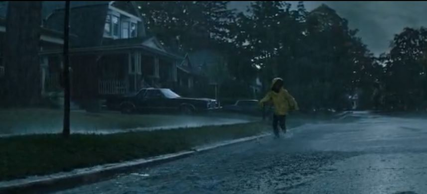 Opening scene of IT, Georgie chases the paper sailboat into the storm drain. The house is located on 124 Queen st. Toronto.