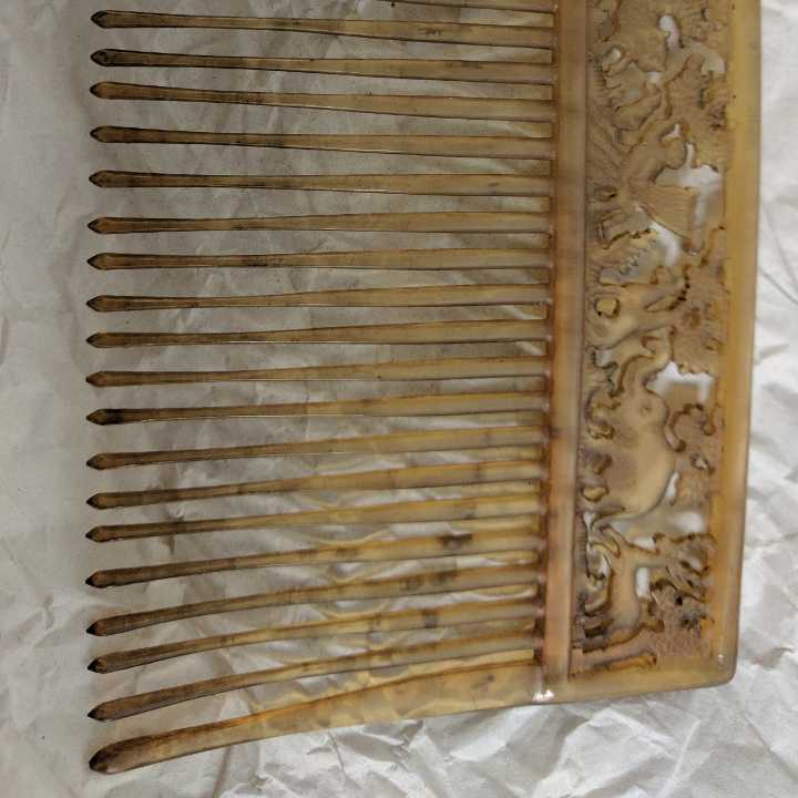 Fine Tooth Horn Comb