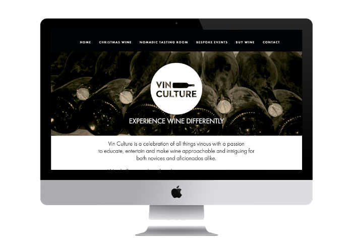 Vin Culture   are a bespoke cheese and wine business specialising in finding unique wines for gift packs and creating personalised cheese and wine events. We have been working with Vin Culture since 2015.   Services delivered   + Website design + Print and online brochures + Targeted Christmas wine gifting campaign: + Print and online brochures for custom wine gift packs + Landing page with wine gift packs + Mailchimp email campaign - designed templates, managed database, coordinated send of eDMs