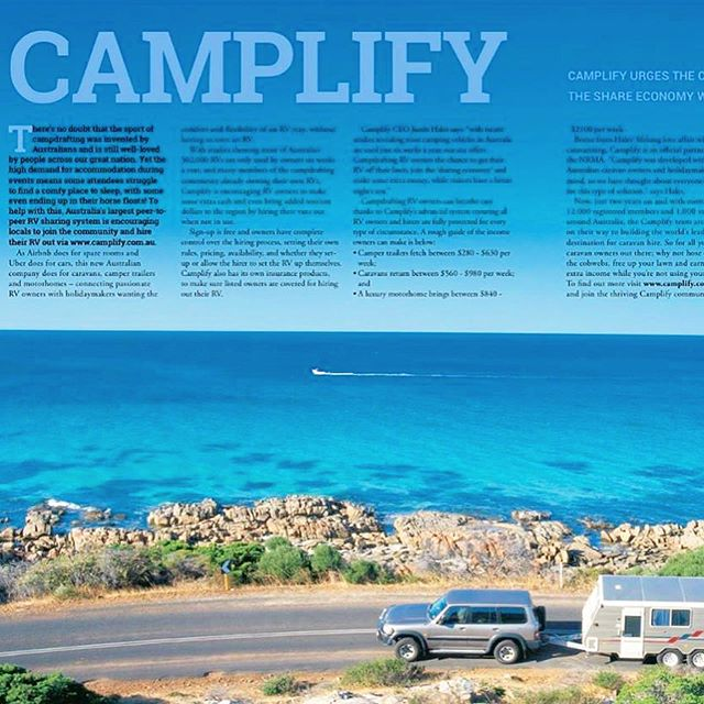This delicious warm weather makes us want to take a @camplifyau holiday ASAP! ☀️😎🚐 We LOVED managing Camplify's PR from 'start-up' phase (early 2016) to global success (late 2017), proudly landing the local brand a huge amount of effective coverage in leading national publications. 💫 ✨ This included @acurrentaffair9, @sunriseon7, @kidspot, @betterhomesandgardens, @9news, @moneymagaus, @newideamagazine, @marieclaireau, @theageaustralia , @jetstaraustralia, @theaureview, @whatsupdownunder, @austtraveller, @newcastleherald , @abcnews, @startupdaily, @gorv.com.au, Caravanandcamping sales.com.au, Campdrafters, Cycle Lane, Business Daily, and MANY more (national and local media).💫 ✨ Want to know how we can help boost your business with our specialised PR, copywriting, SEO, website development (or redevelopment) and/or editing services? 🧐 Get in touch via mobile or email & we'll replace any digital marketing overwhelm with the outstanding results dreams are made of. 🥰 . . #newcastle #media #pr #creatives #caravanning #Newcastle each #digitalmarketing #websitedesign #copywriting #seo #australia #holidays #holıdaystyle #shareeconomy #australianbusiness