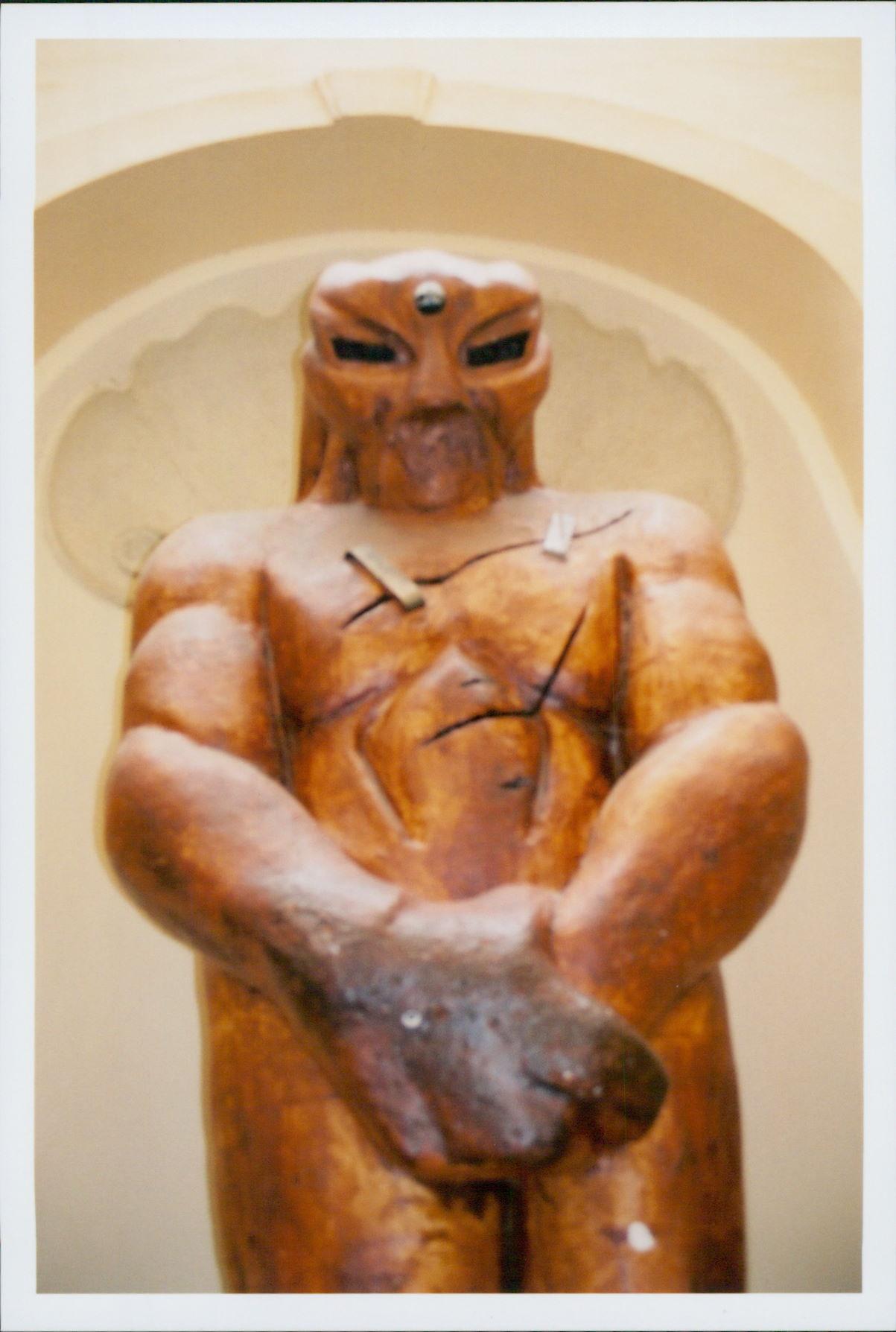 Golem statue in Prague. Photo credit: Jason
