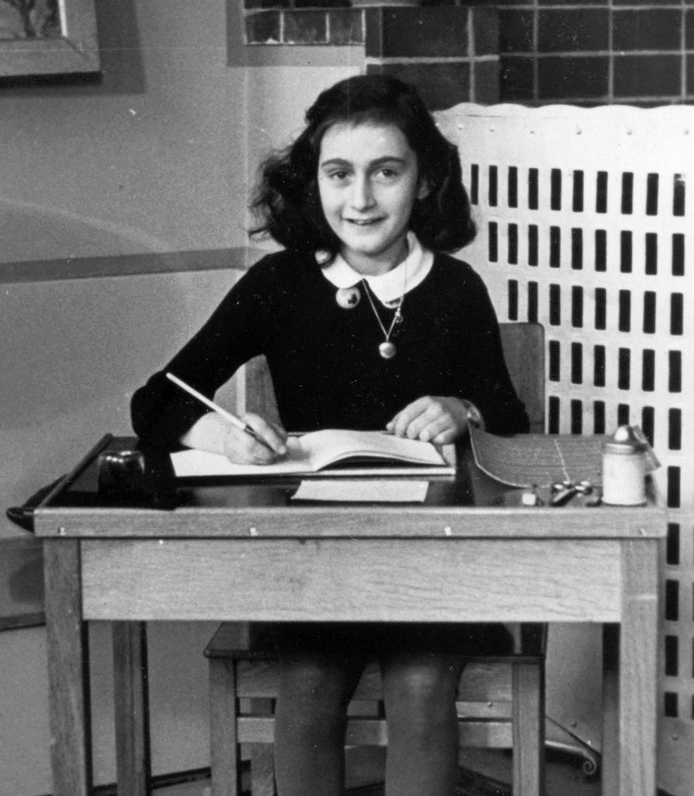 Anne Frank. Photo credit: Wikipedia