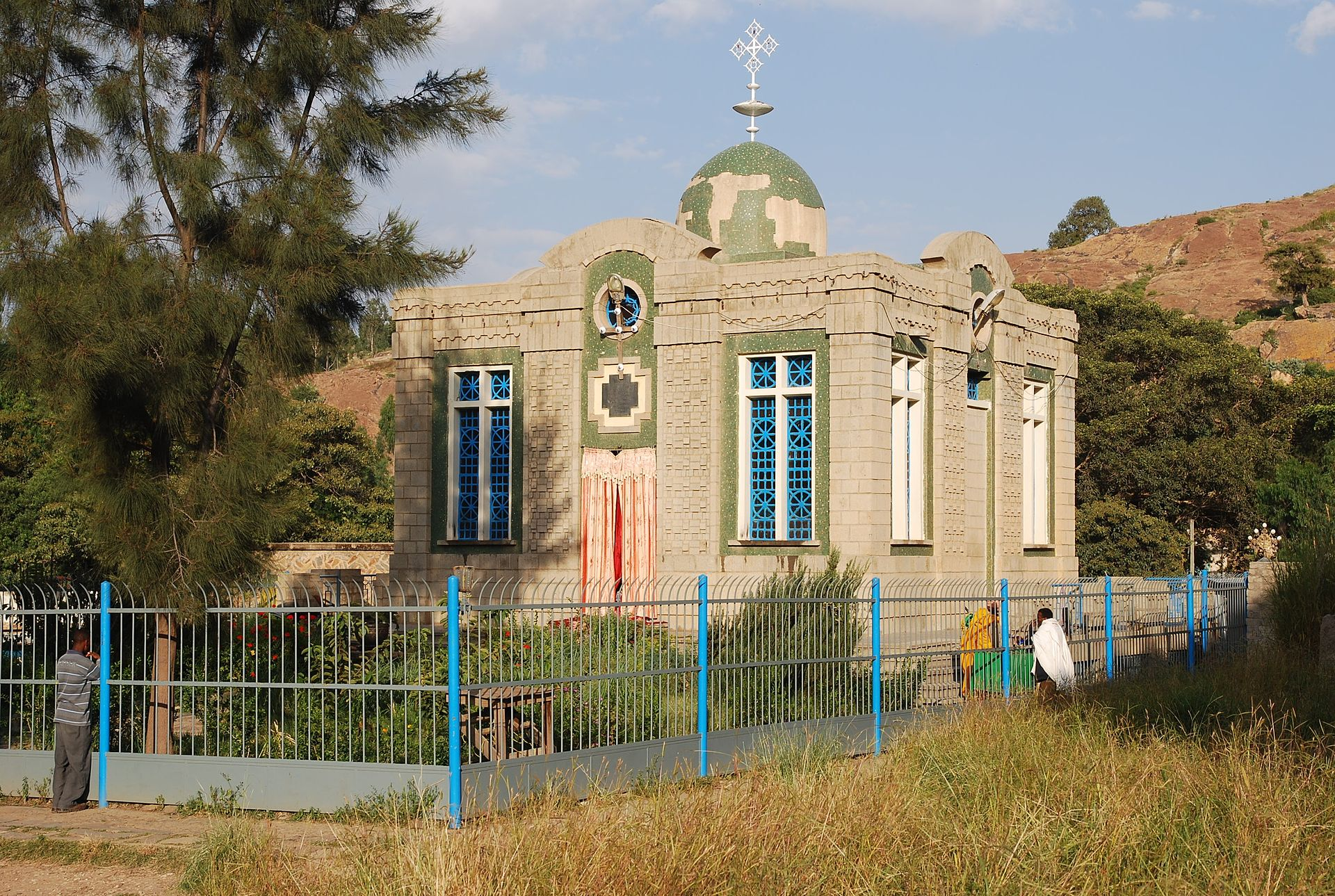 The chapel in Axum, Ethiopia, where the Ark of the Covenant is supposedly kept. Photo source: Wikipedia