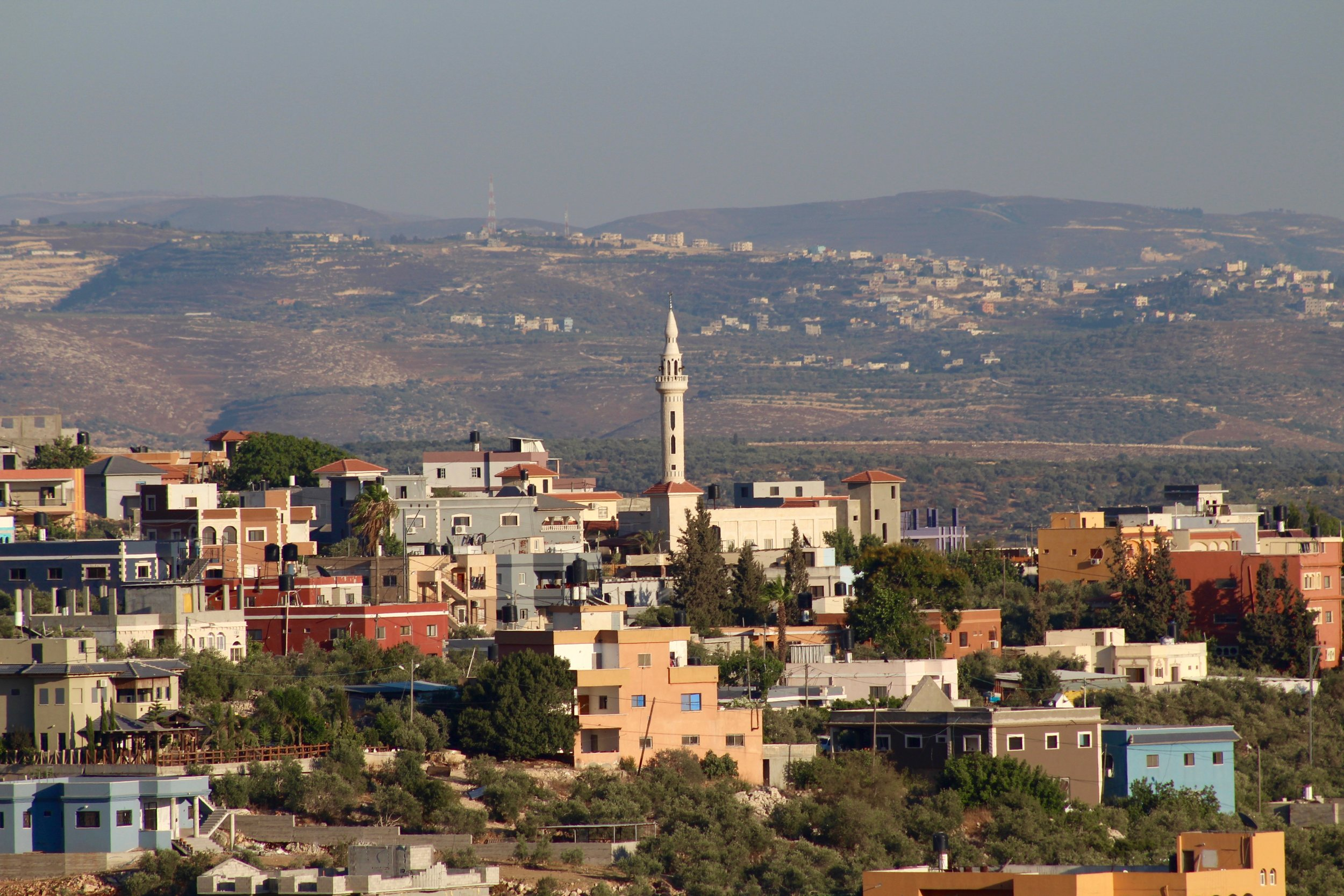 Arab village in the West Bank. Photo: Jason Harris