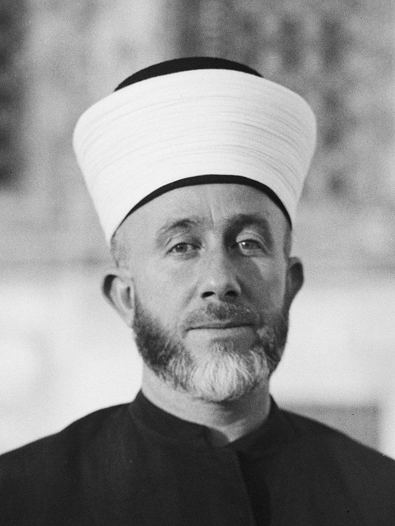 Haj Amin al-Husseini. Photo source: Wikipedia