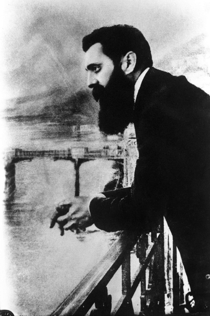 Theodore Herzl in Vienna. Photo source: Wikipedia
