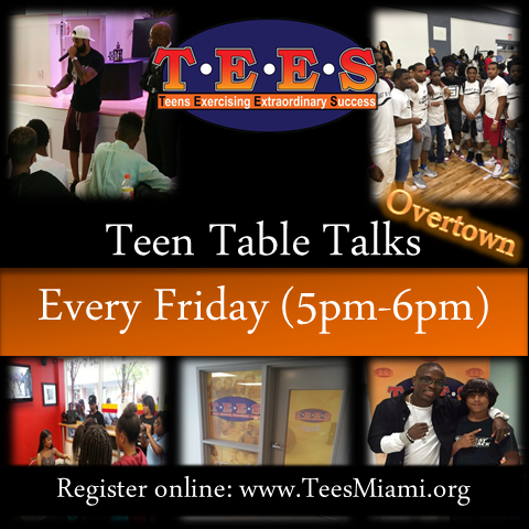 - Teen Table Talks is an interactive conversation with middle & high school teens. Topics include conflict resolution, bullying, proper decision making, choices & consequences, and much more.