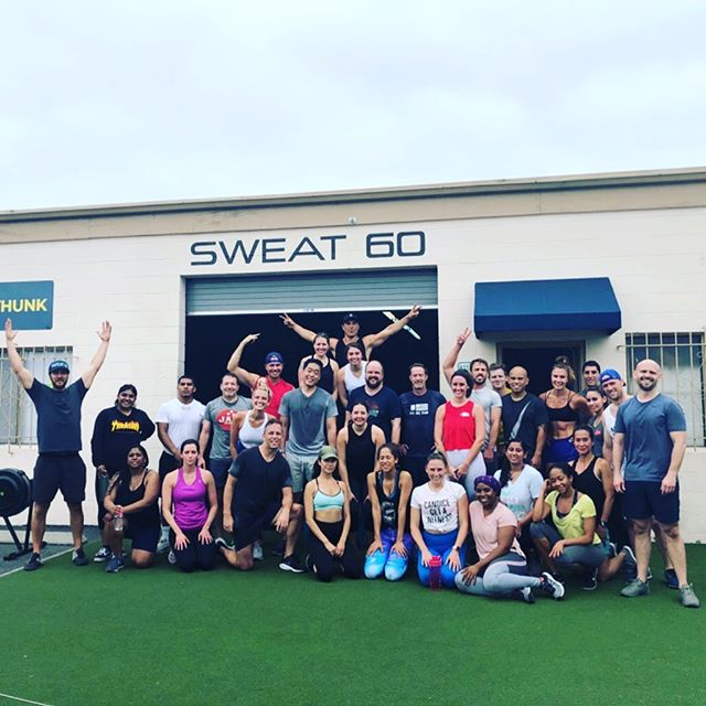 Happy 4th from #teamsweat 🇺🇸💪🏼🇺🇸 . . . #Sweat60 #Sweat60fitness #bestgym #la #personaltrainer #SantaMonica #GetFit #GoalSetting #FitnessGoals #TrainHard #NoExcuses #FitFam #FitLife #Weights #fitlife #workoutlife #weighttraining #weights #fitnessmotivation #strength #sweat #freeclass #mobility #weightloss  #workoutoftheday #strong #westla