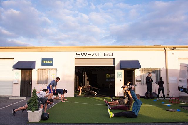  Sweat 60 is a team who motivates and strengthens each other. Our sense of community is what makes this gym so special. Come experience Sweat 60 - click our link in bio💪    #Sweat60 #Sweat60fitness #bestgym #la #personaltrainer #SantaMonica #GetFit #GoalSetting #FitnessGoals #TrainHard #NoExcuses #FitFam #FitLife #weights #workoutlife #weighttraining #fitnessmotivation #strength #sweat #freeclass #mobility #workoutoftheday #strong #westla #community #team #motivation #squadgoals 