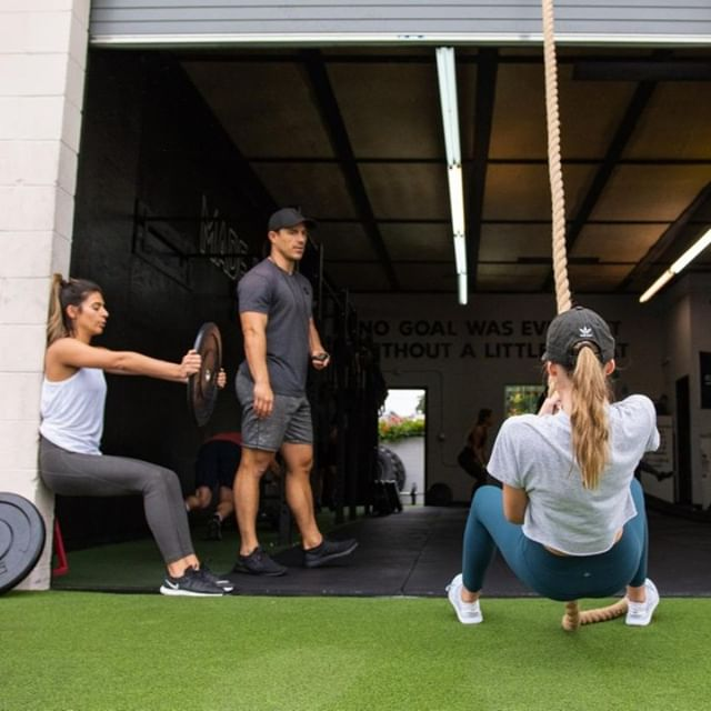 """The first step in any success is showing up."" - David DeNotaris⁠ ⁠ Happy Monday fam! Are you signed up for group training this week? Book early before spots fill up!⁠ ⁠ ⁠ ⁠ ⁠ ⁠ ⁠ #Sweat60 #Sweat60fitness #bestgym #la #personaltrainer #SantaMonica #GetFit #GoalSetting #FitnessGoals #TrainHard #NoExcuses #FitFam #FitLife #weights #workoutlife #weighttraining #fitnessmotivation #strength #sweat #freeclass #mobility #workoutoftheday #strong #westla #monday #mondaymotivation #success ⁠ ⁠ ⁠ ⁠ ⁠"