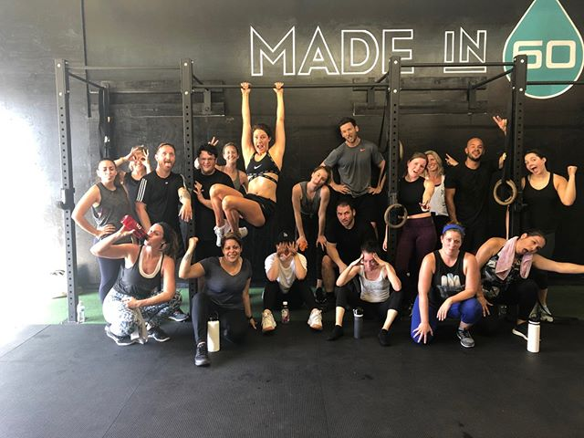 Healthy living and community building ❤️ the community is what it's all about here! come check us out and see for yourself - link in bio     #Sweat60 #Sweat60fitness #bestgym #la #personaltrainer #SantaMonica #GetFit #GoalSetting #FitnessGoals #TrainHard #NoExcuses #FitFam #FitLife #weights #workoutlife #weighttraining #fitnessmotivation #strength #sweat #freeclass #mobility #workoutoftheday #strong #westla #success #grouptraining #community #healthyliving