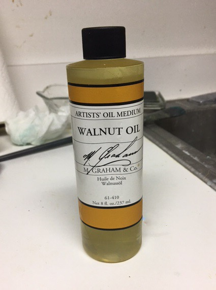M. Graham's artist-grade walnut oil.