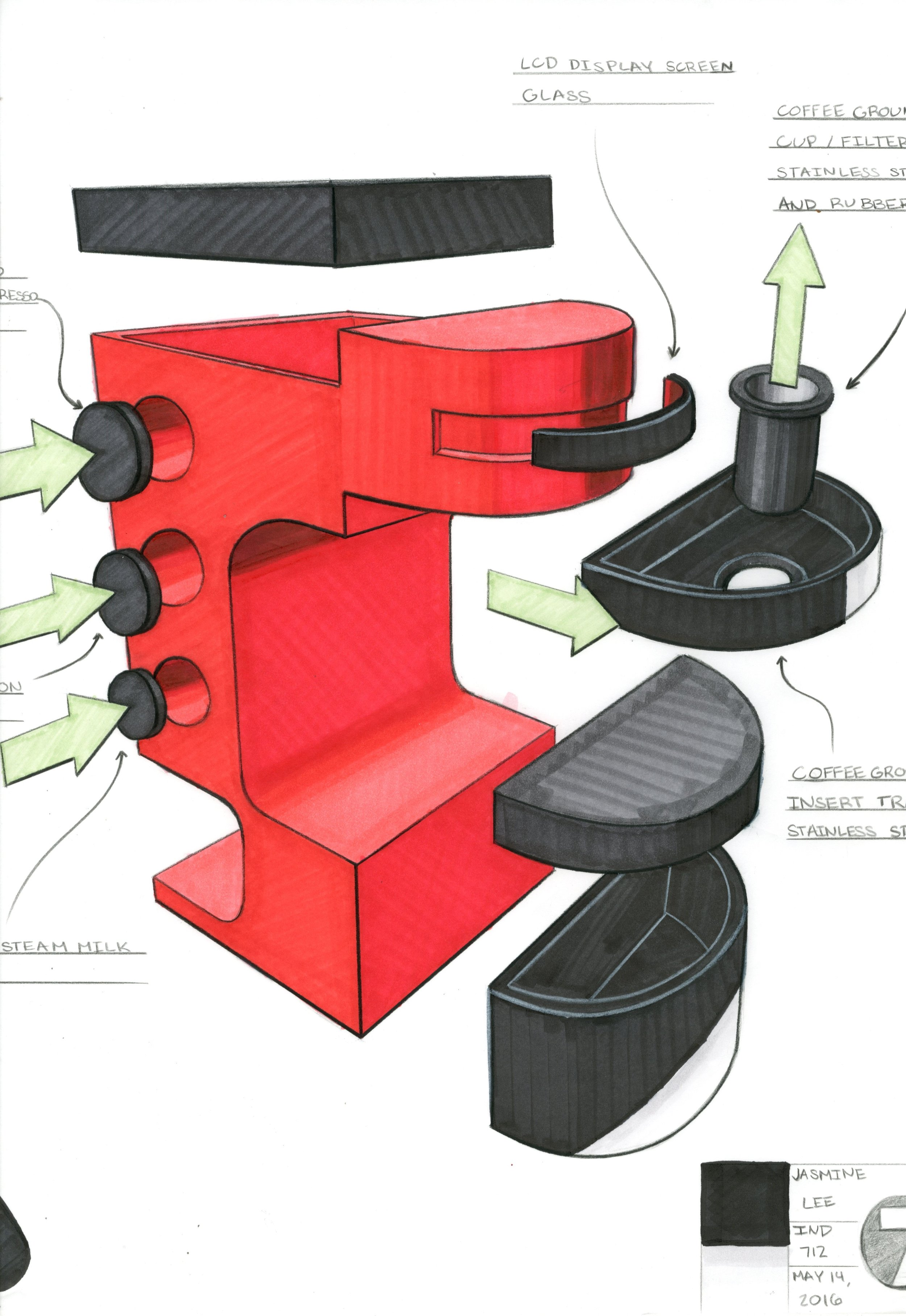 Front Exploded View