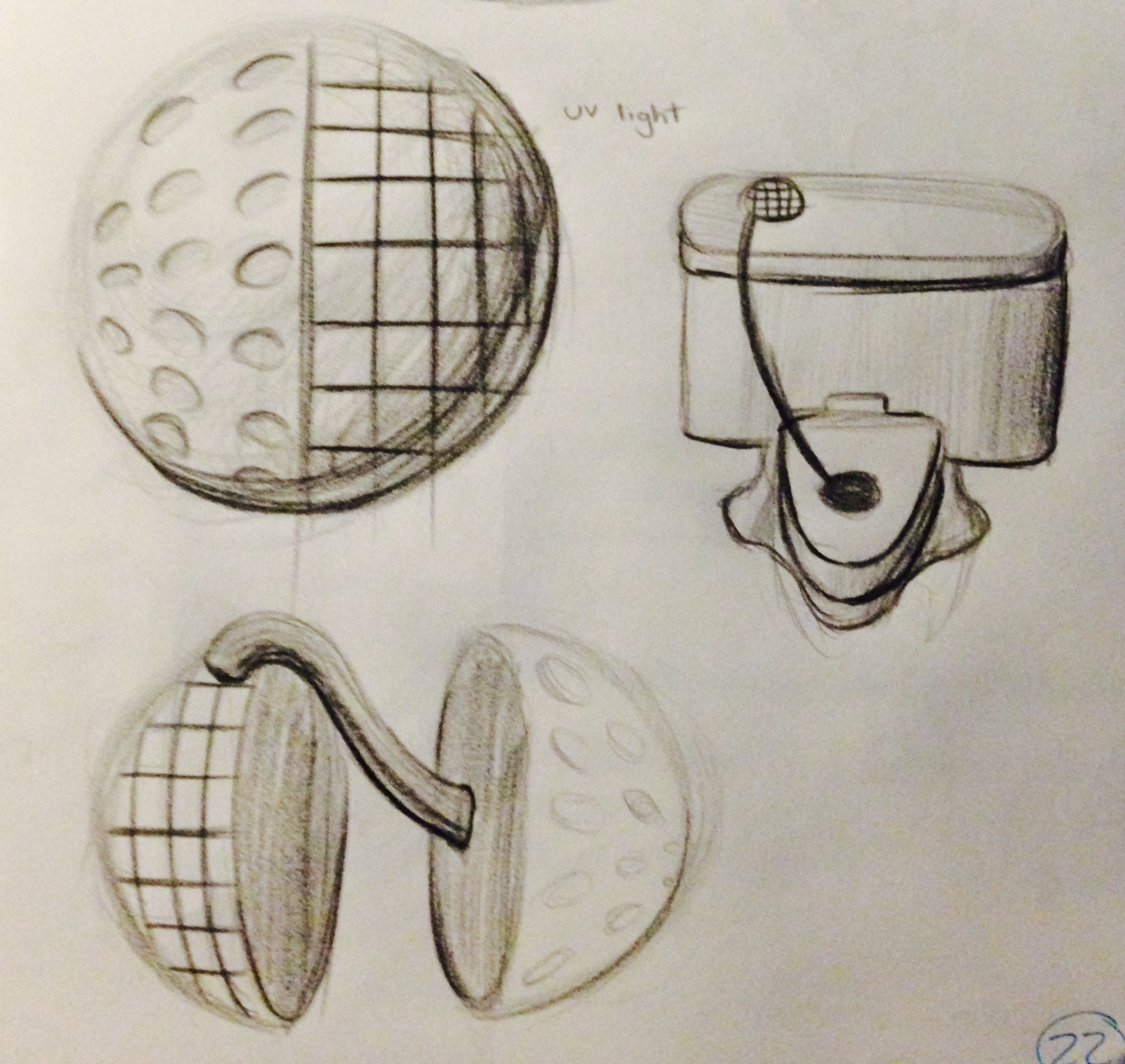 Split Sphere Concept