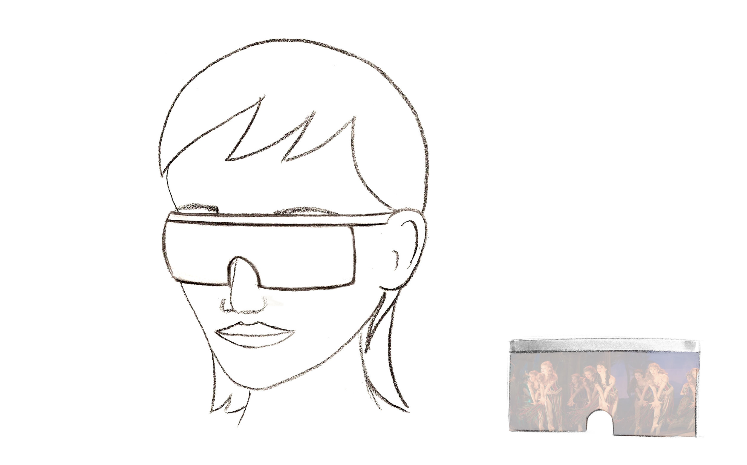 Augmented Sight Concept: AR Glasses