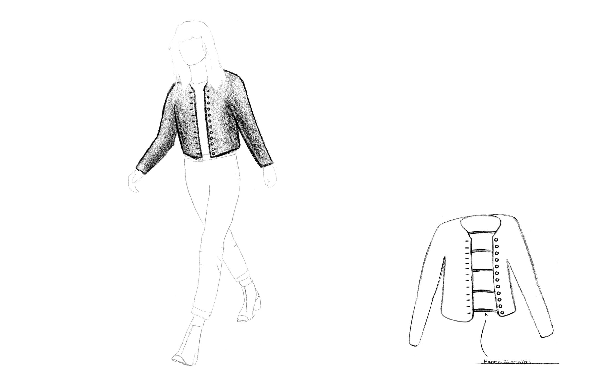 Augmented Touch Concept: Haptic Feedback Coat
