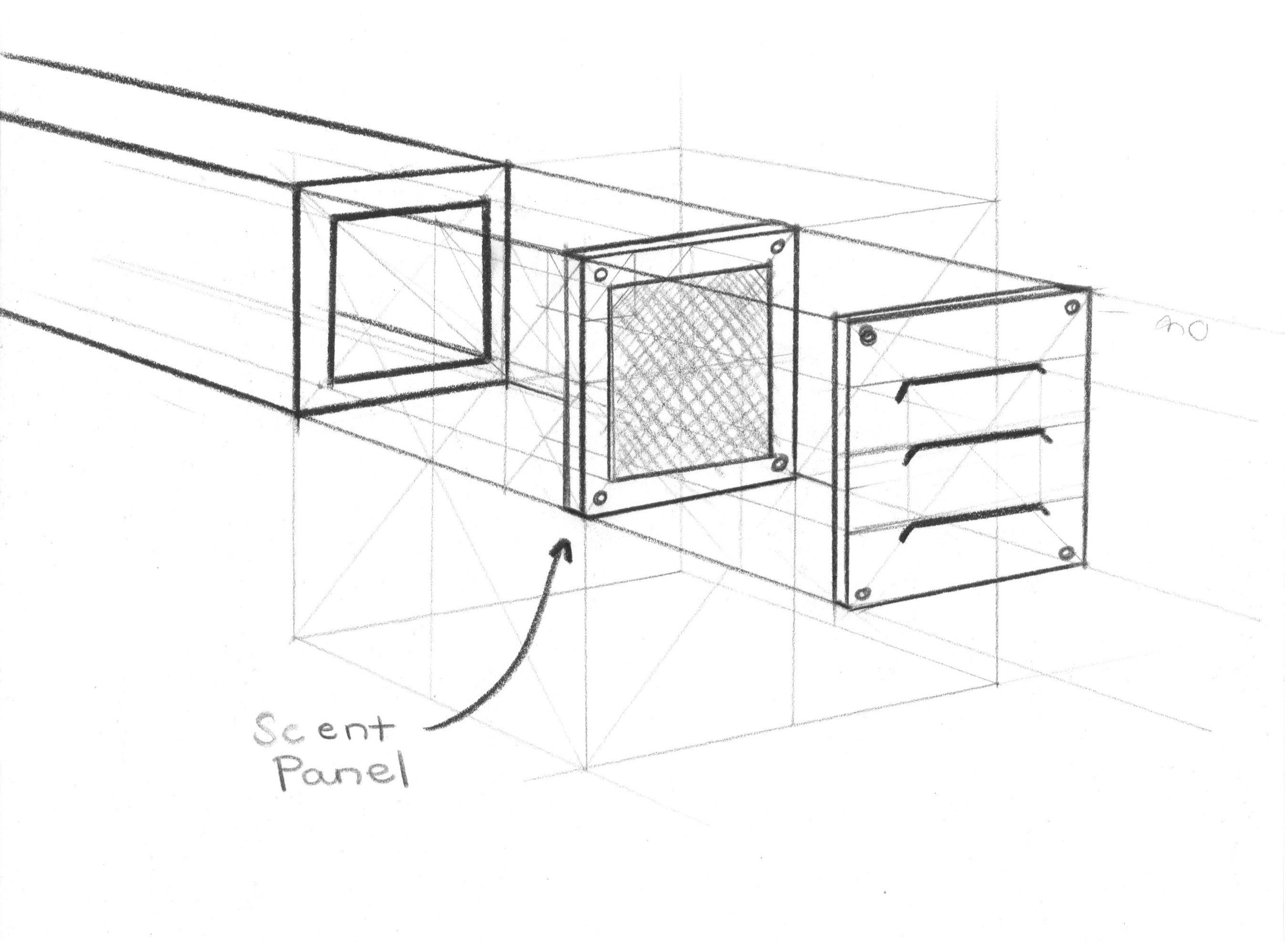"""Augmented Smell Concept: Ventilation """"Filter"""""""