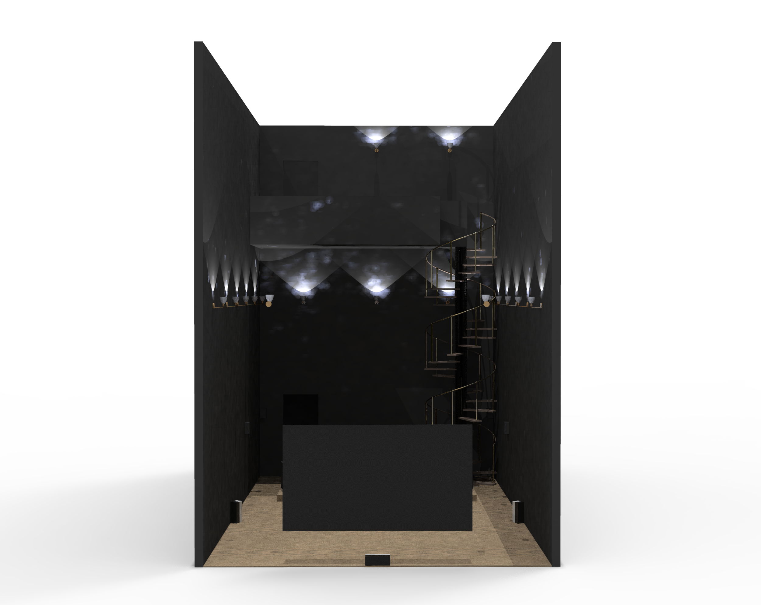 CAD Model: Facing Seats