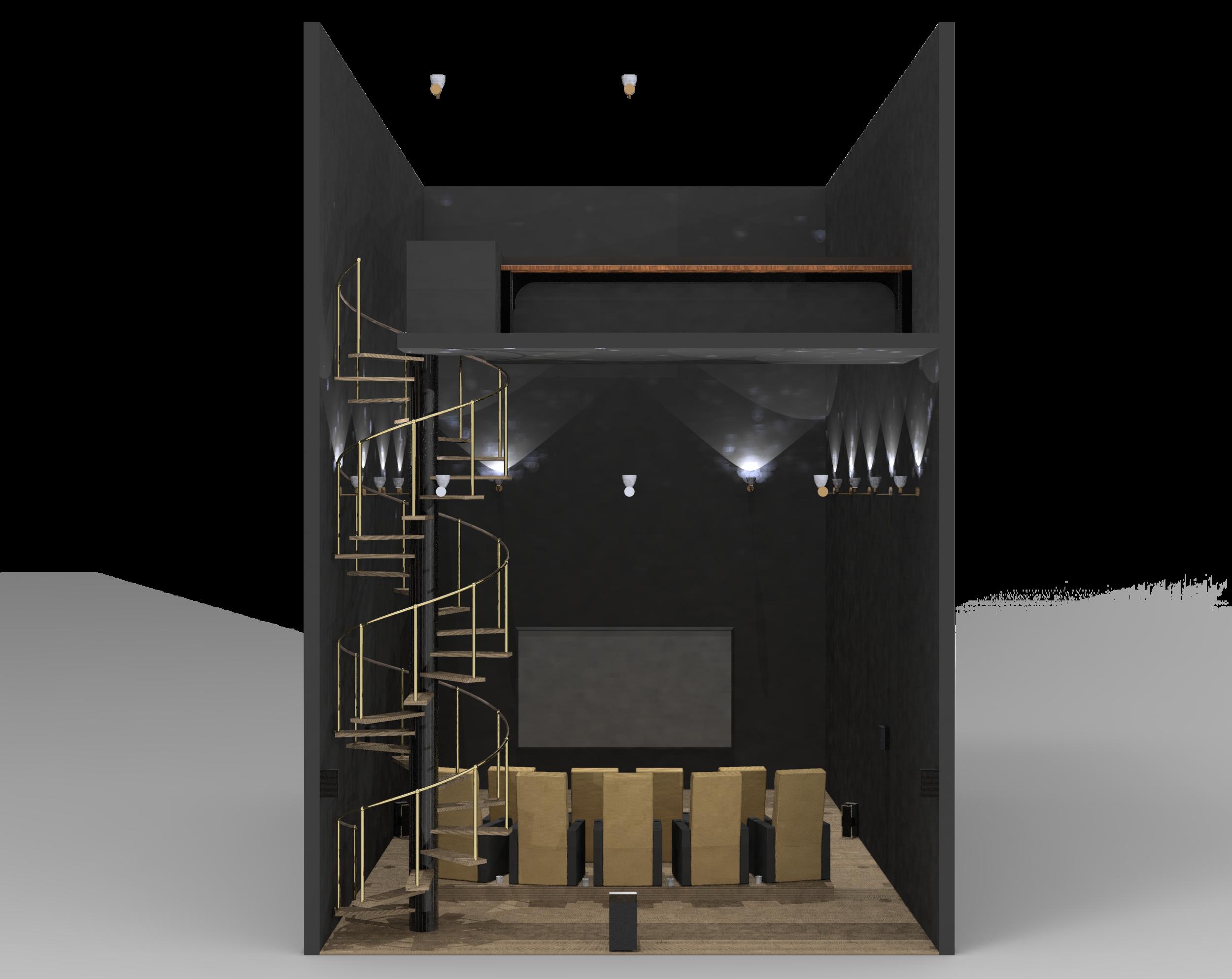 CAD Model: Facing Display
