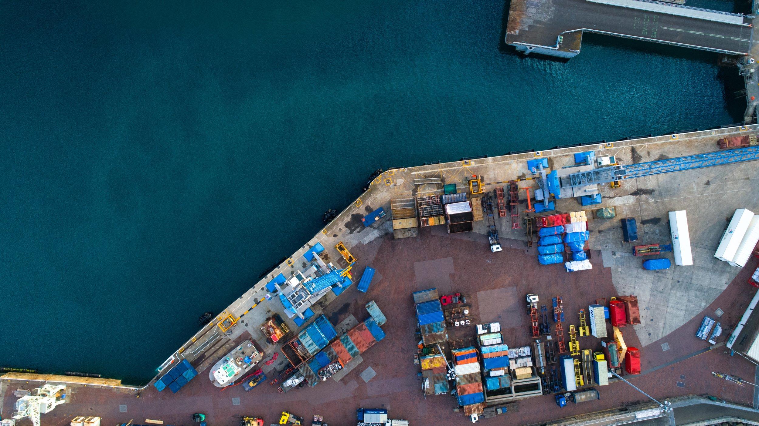 havneophold og vagtsystemer -