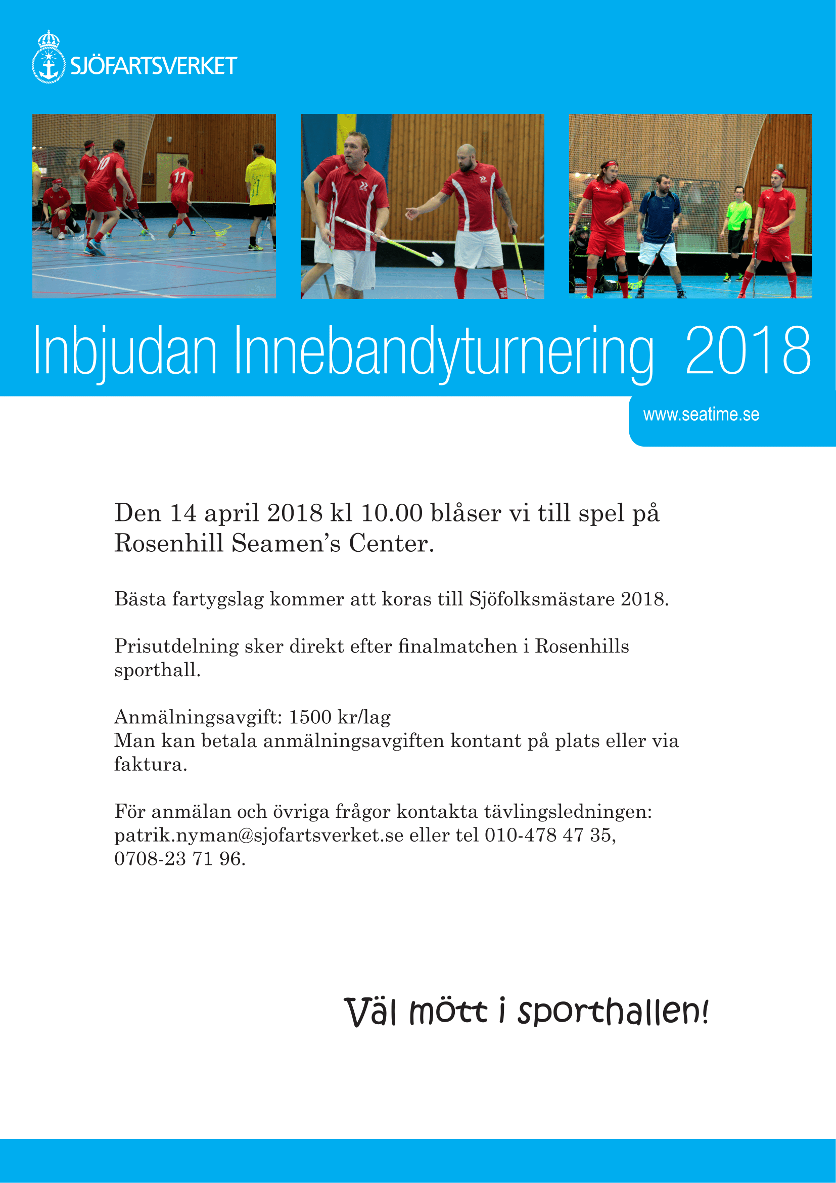 Innebandyturnering 2018