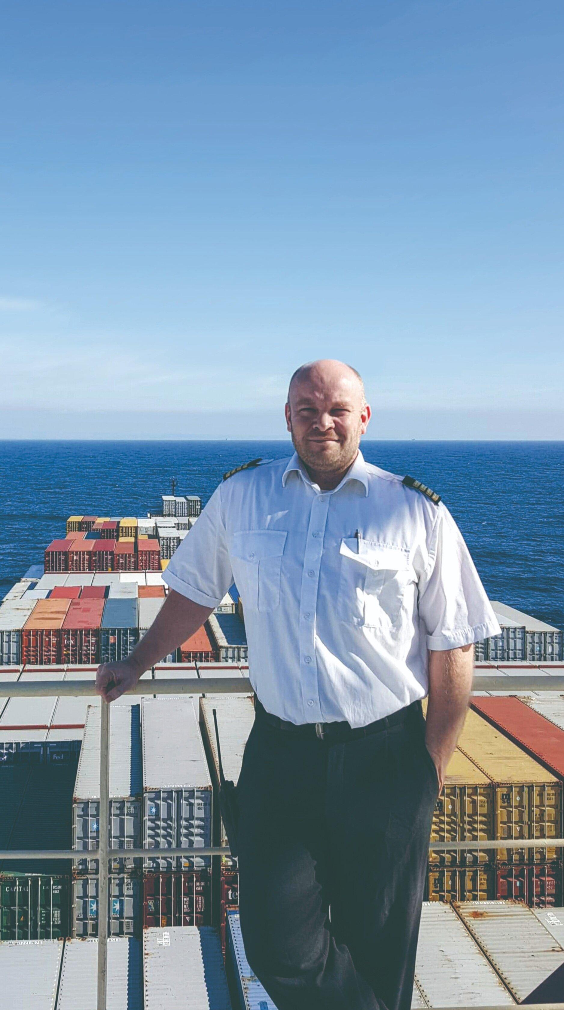 Kaptajn og mentor i Mærsk, Tommy Tjagvad Kristiansen.