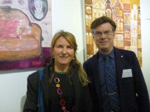 Espace Art Gallery director J.Delfosse