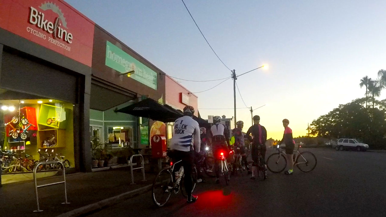 Wednesday Beginner's Ride - 5.30am Year Round From BikelineDon't be afraid. Come along and we will teach you all there is to know about this marvellous cycling life.