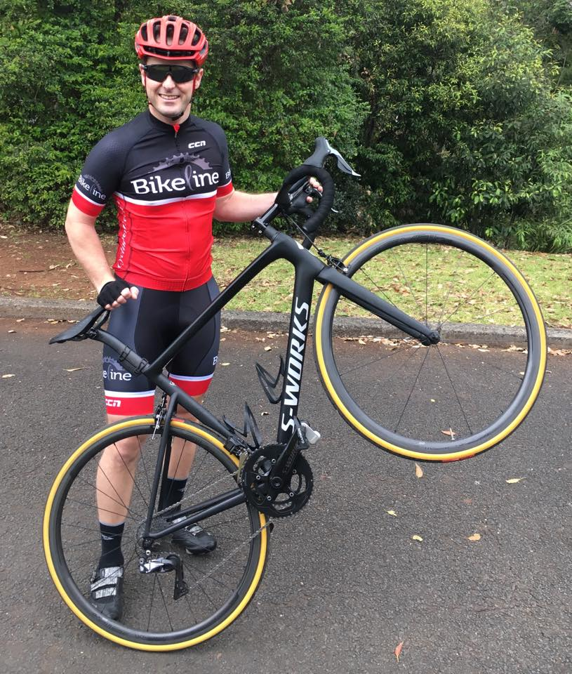 Club Bikeline Social Kit (as modelled by matt sander and his rather fabulous sworks tarmac)