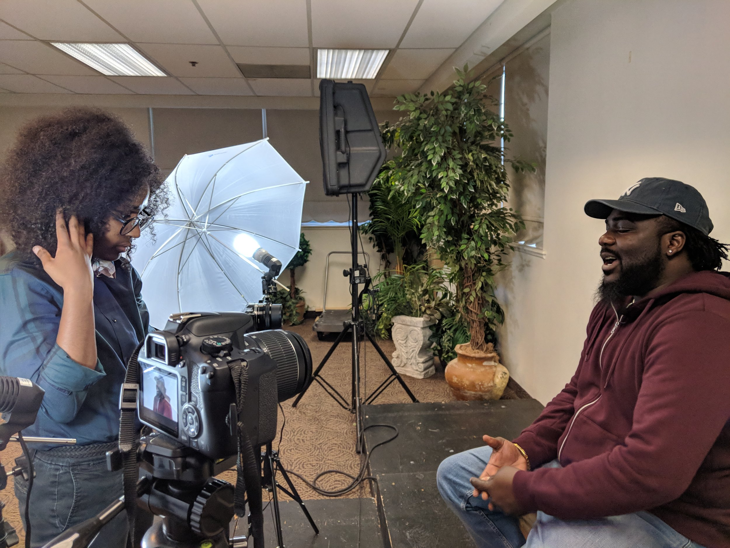 Behind the scenes interview with Ish of   Nikeo Music