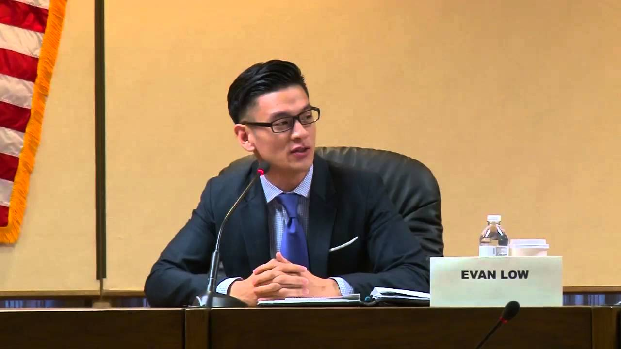 California 28th district Assembly member Evan Low.