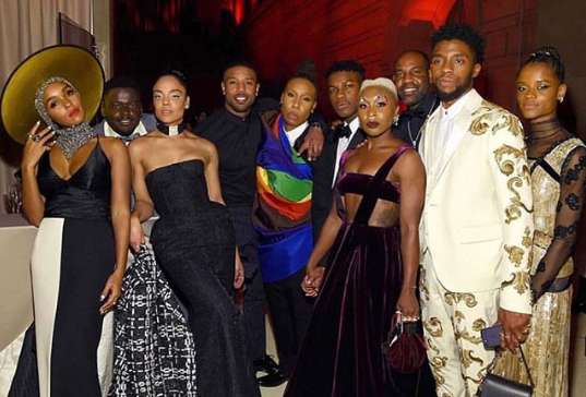 Beautiful black celebrities at the 2018 Met Gala. Would give almost anything for this to be my community!  (Photo credit: Pop Sugar )