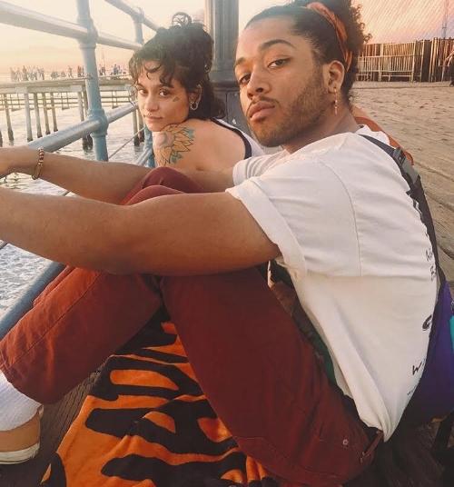 Kehlani and Javie / photo via  @jyoungwhite
