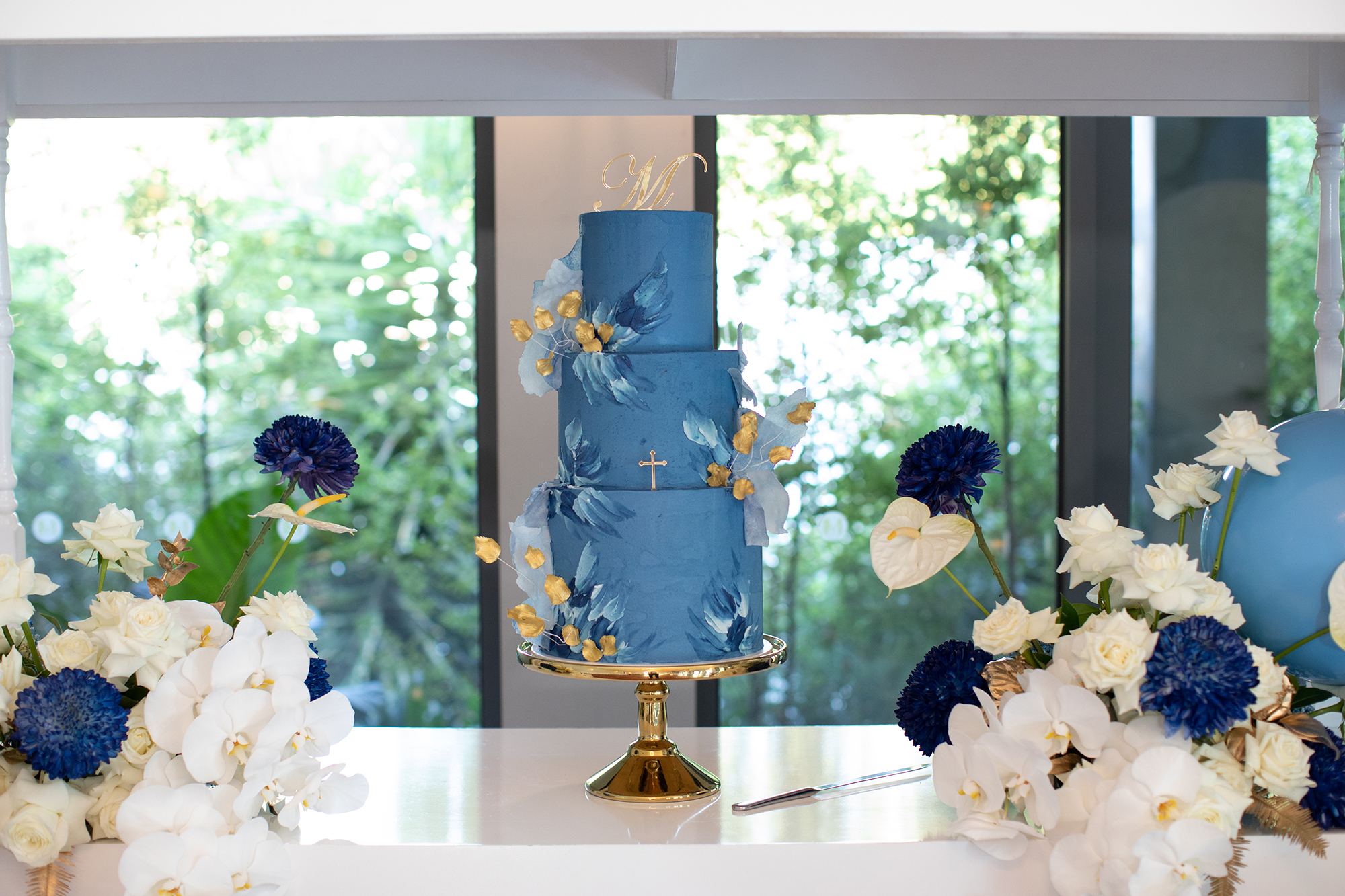 Baptism cake table ideas