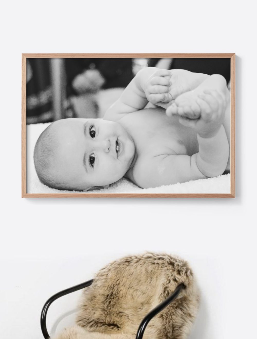 All images printed to fill frame for a fresh and contemporary style.
