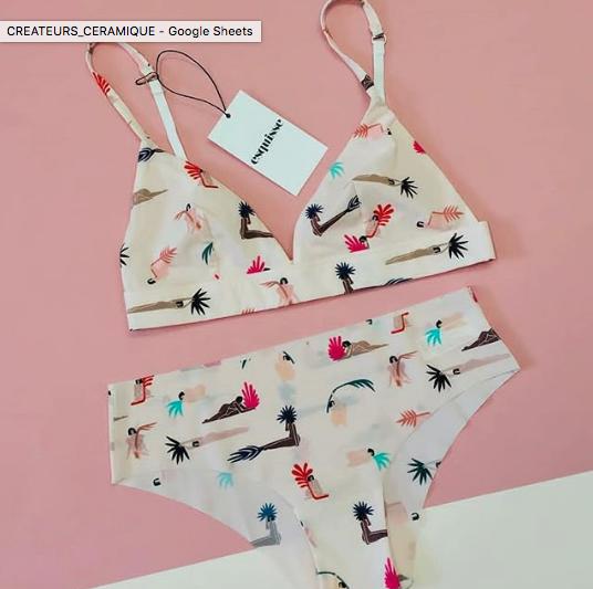 esquisse lingerie