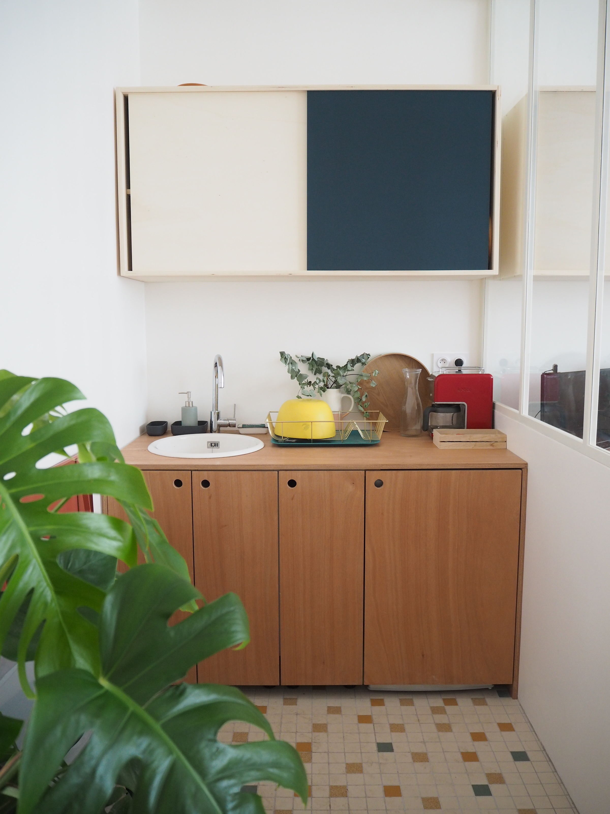 la cuisine de l'atelier.JPG