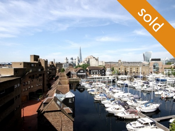 St Katharine Docks E1W  1 bed | 502 Sq Ft Flat 82 | Sold Leasehold