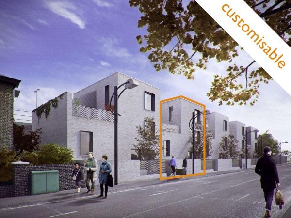 Blenheim Grove SE15  4/5 Bed | 1651 Sq Ft | Poulsom Middlehurst House 62 | £1,149,995 Shell Freehold | Custom build