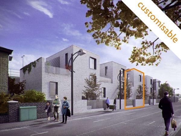 Blenheim Grove SE15  4/5 Bed | 1553 Sq Ft | Poulsom Middlehurst House 60 | £1,059,995 Shell  Freehold | Custom build