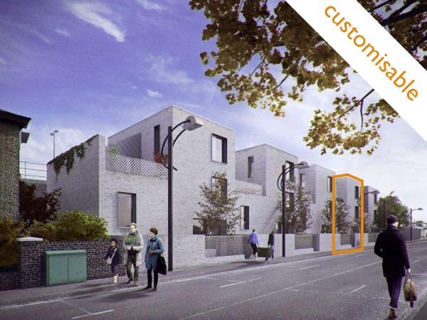 Blenheim Grove SE15  3/4 Bed | 1287 Sq Ft | Poulsom Middlehurst House 58 | £899,995 Shell Freehold | Custom build