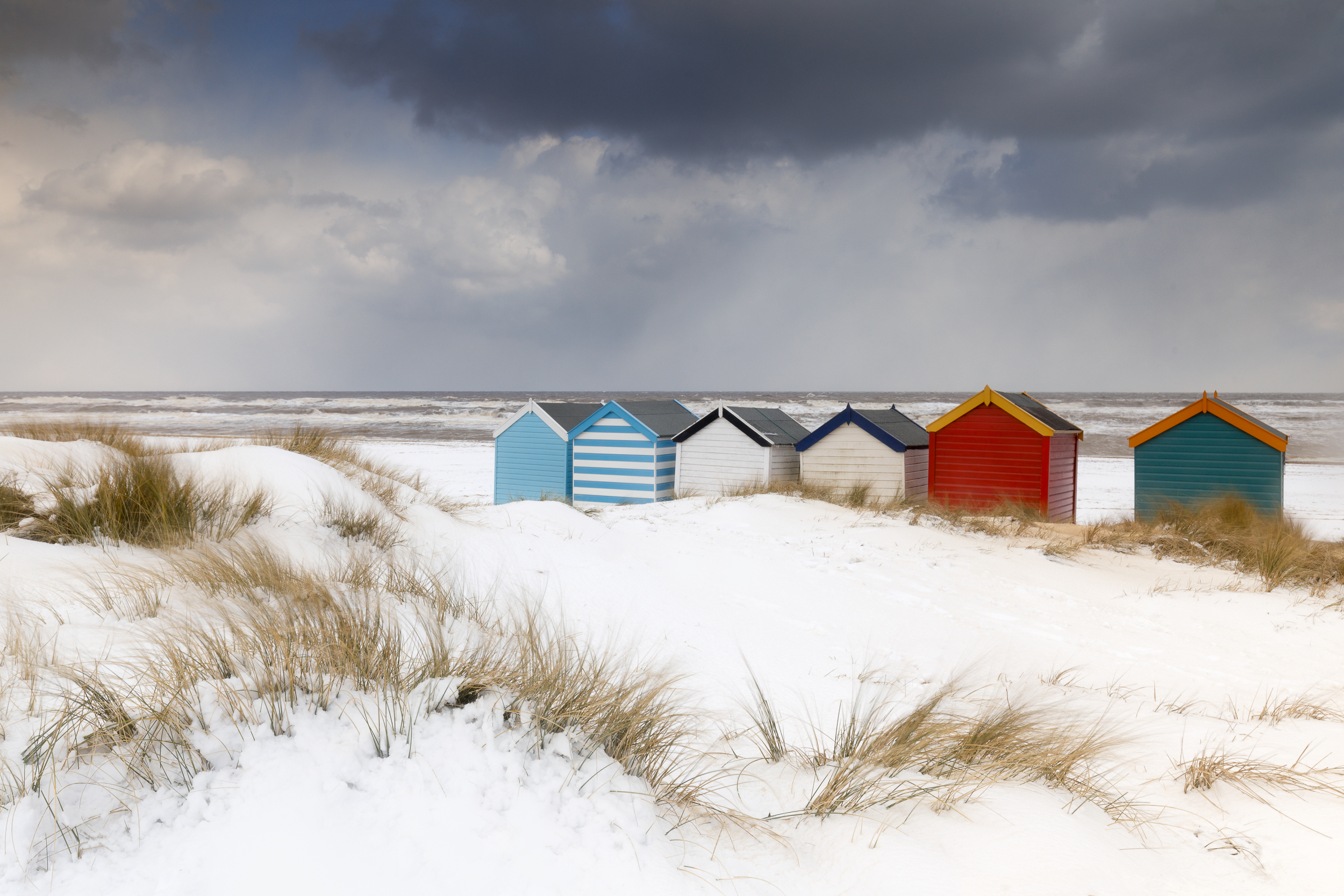 Southwold in the snow - March