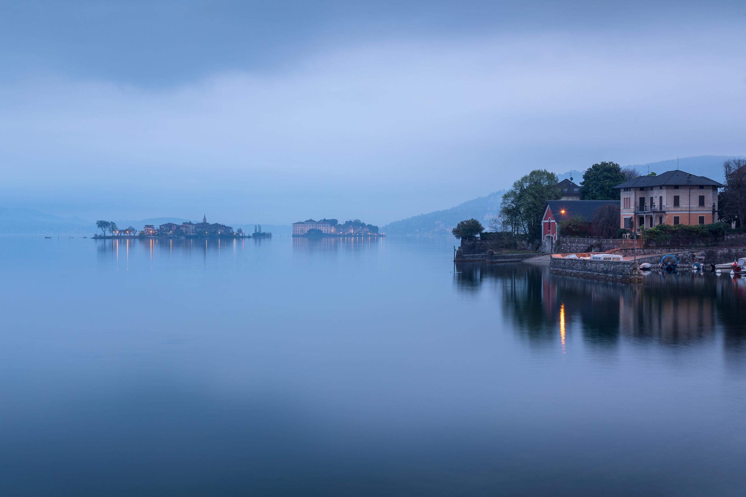 Dawn at Lake Maggiore